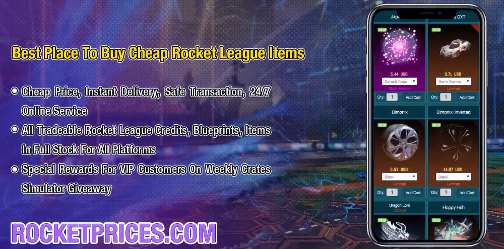Enjoy Refreshing Football Experience in Rocket League & Best Rocket League Trading On RocketPrices.Com