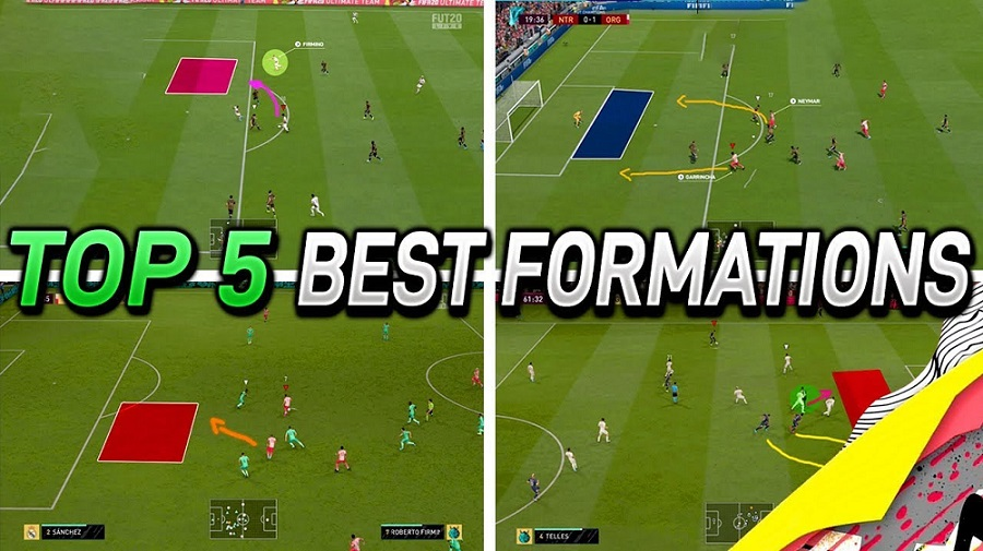 5 Best FIFA 20 FUT Formations & Player Instructions - 4-4-2, 4-2-3-1, 4-2-2-2, 3-5-2 & More