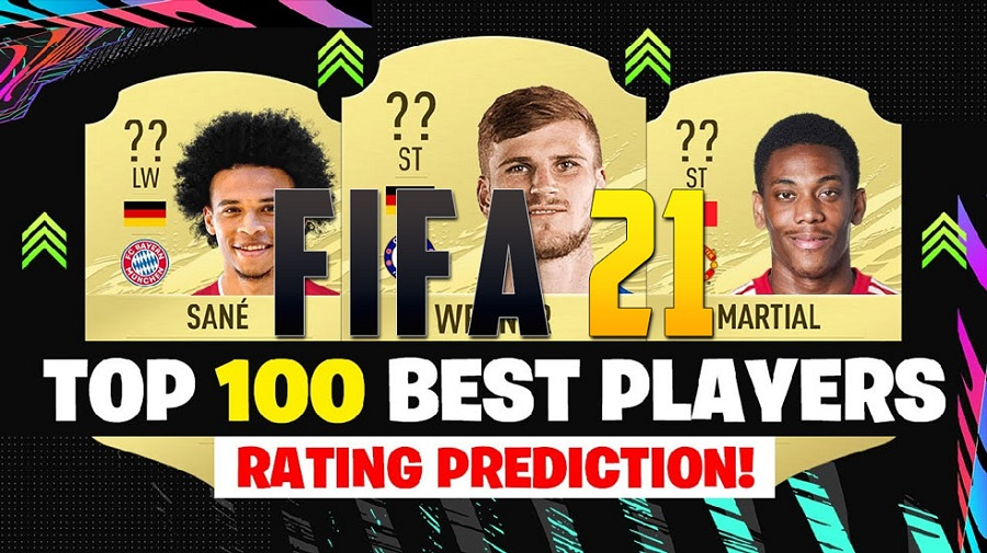 Top 100 player ratings in FUT 21