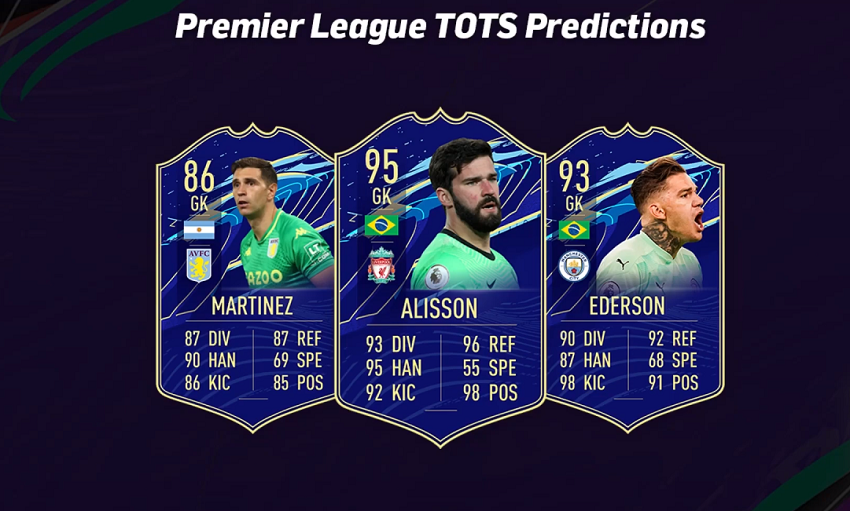FIFA 21 Premier League TOTS Predictions - Team Of The Season Release Date, Player Cards, Offers & More