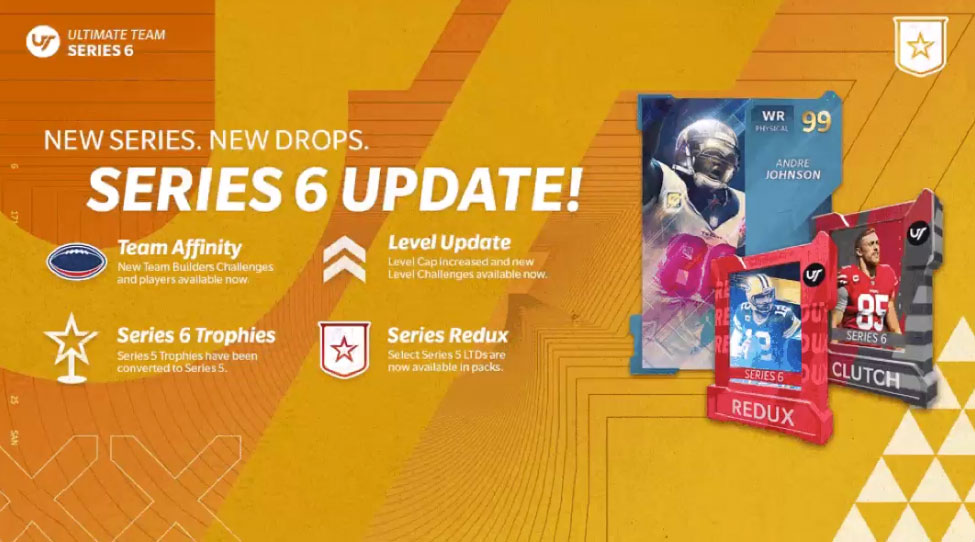 Madden 21 Series 6 Update - MUT Masters, Level Rewards, Redux Players, Team Builders, Sets, Solos